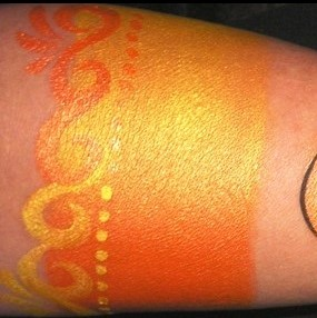 TAG face paint - Pearl Orange and Pearl Yellow 50g