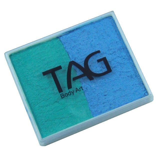 TAG face paint - Pearl Teal and Pearl Sky Blue 50g