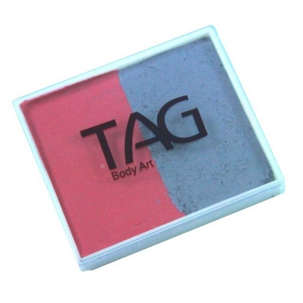 TAG face paint - Soft Grey and Rose Pink 50g
