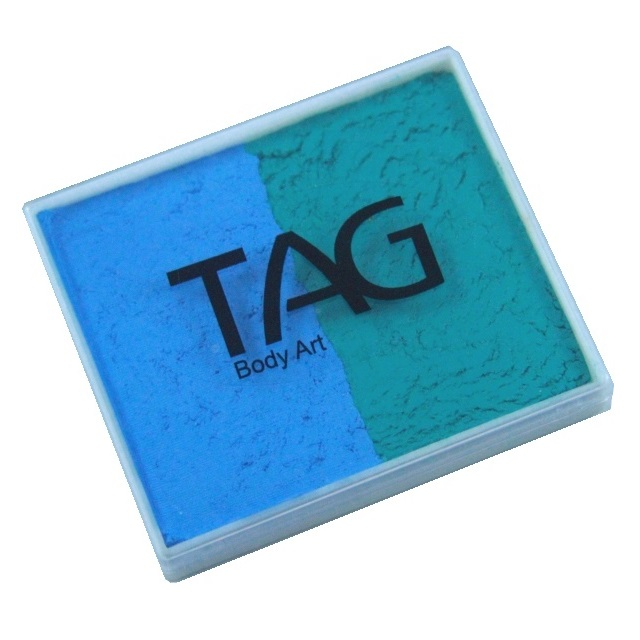 TAG face paint - Teal and Light Blue 50g