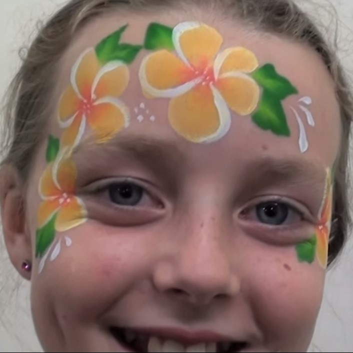 TAG 1 inch one-stroke face paint - Tropical 30g