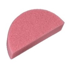 TAG Medium Density Half-circle Face Painting Sponge - Single