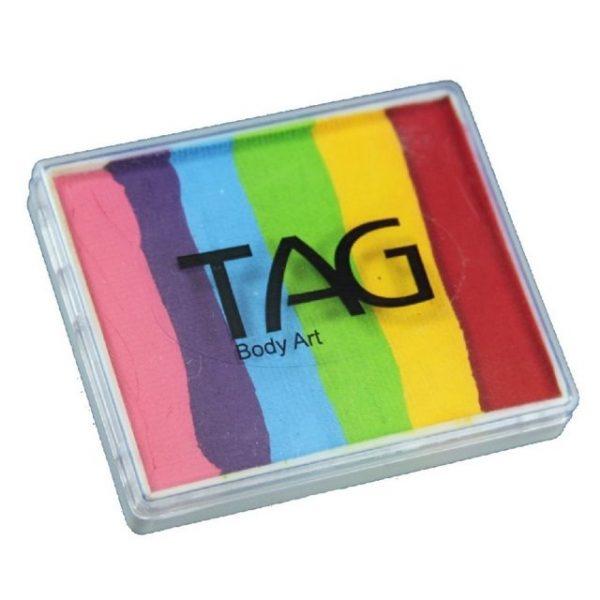 TAG split-cake face paint - Regular Rainbow 50g