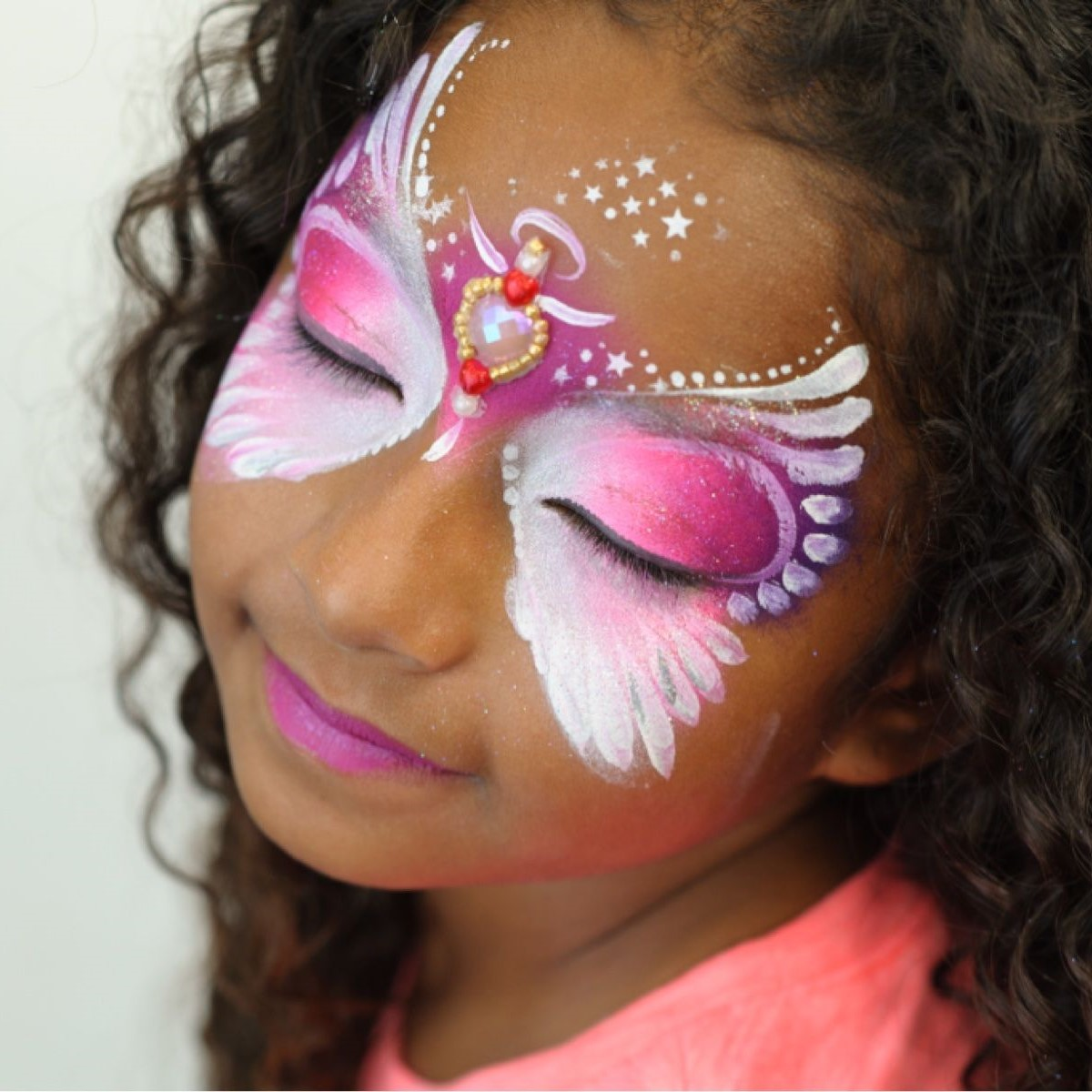 The Face Painting Book of Rainbows and Bling