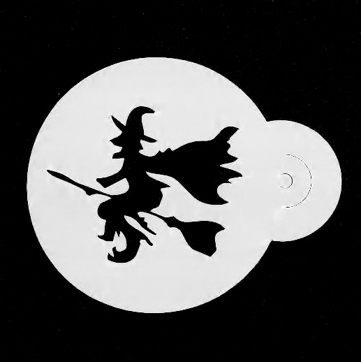 Face Painting Stencil - Witch