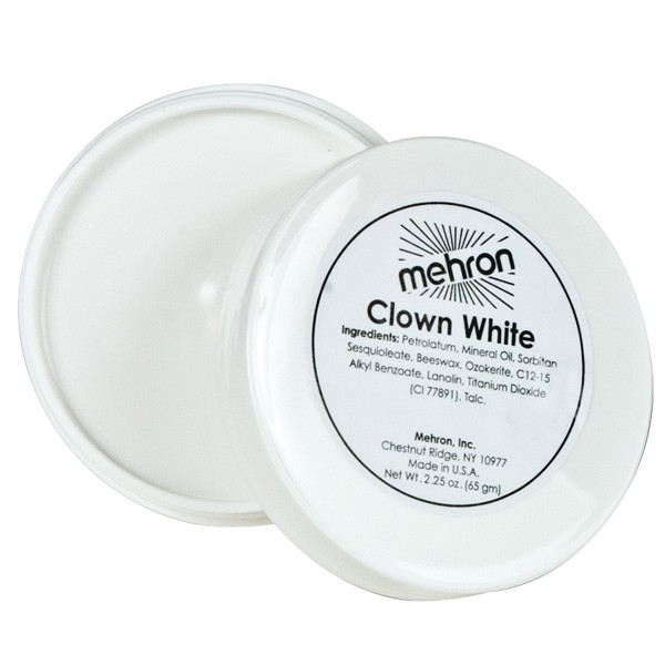 Mehron Makeup Clown White 65g