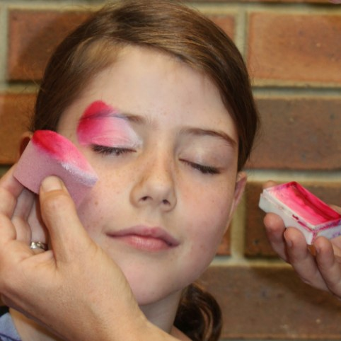 Fusion Body Art Medium Density Petal Face Painting Sponges - 3 Pack