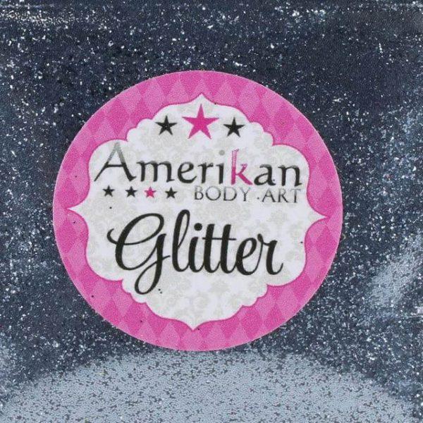 ABA Gunmetal cosmetic glitter