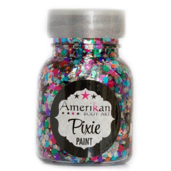 ABA Rainbow Brite Pixie Paint Chunky Glitter Gel 30ml