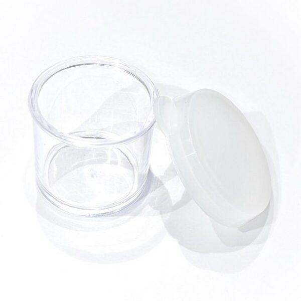 Empty Pop-top Jar for glitter or gems