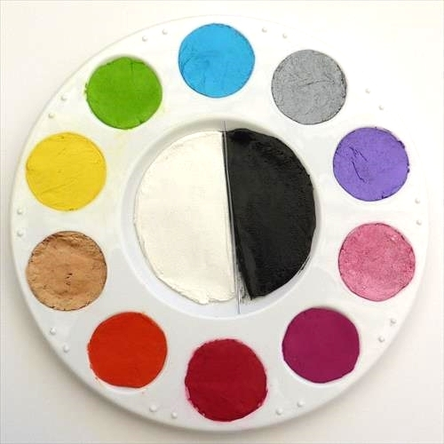 Face Paint World Regular and Pearl 12 Colour Palette