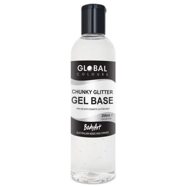 Global gel base for chunky glitters 250ml