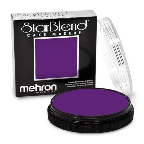 Mehron StarBlend cake makeup Purple
