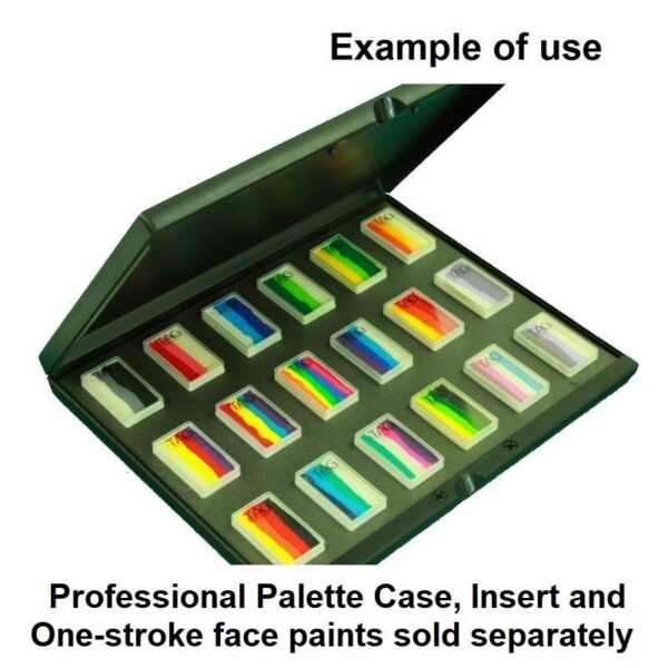 Palette Insert for one-strokes filled with one-strokes