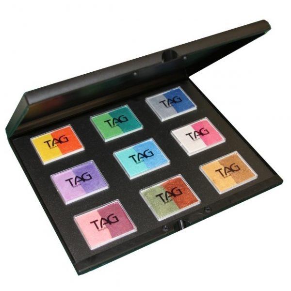 TAG 18 colour set in Pro-case - Pearl