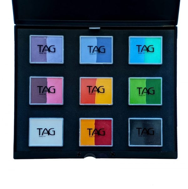 Tag 16 colour set in Pro-case - Regular including Black and White