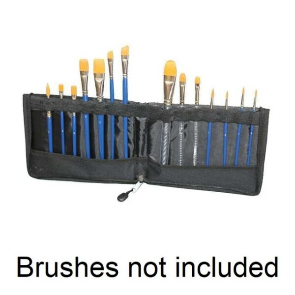 Tag large Brush Wallet standing