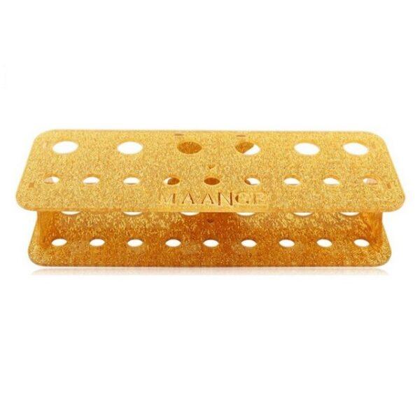 Gold Brush Stand