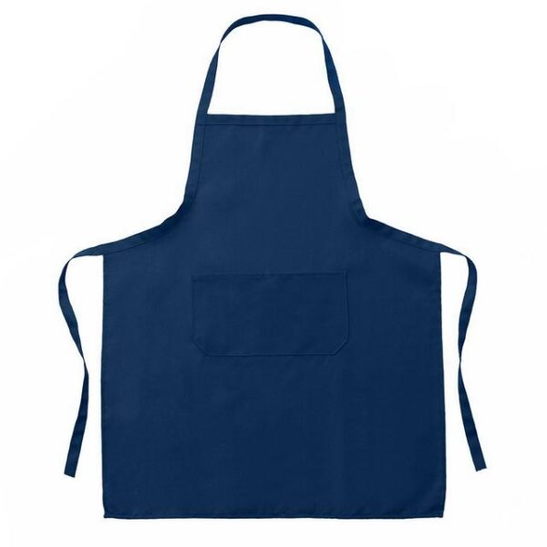 face painting apron royal blue